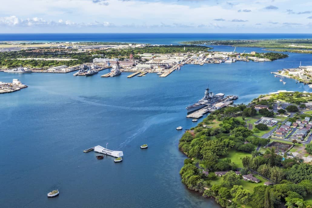 Pearl Harbor From above