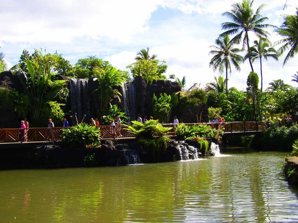 Polynesian Cultural Center Grounds