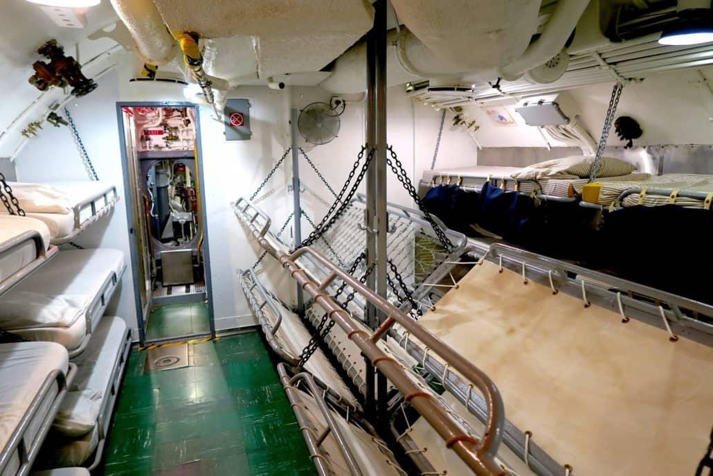 USS Bowfin Bunks