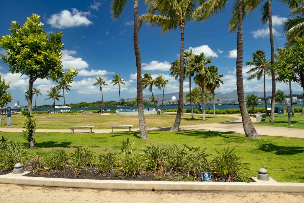 Pearl Harbor Visitor Center Grounds Oahu
