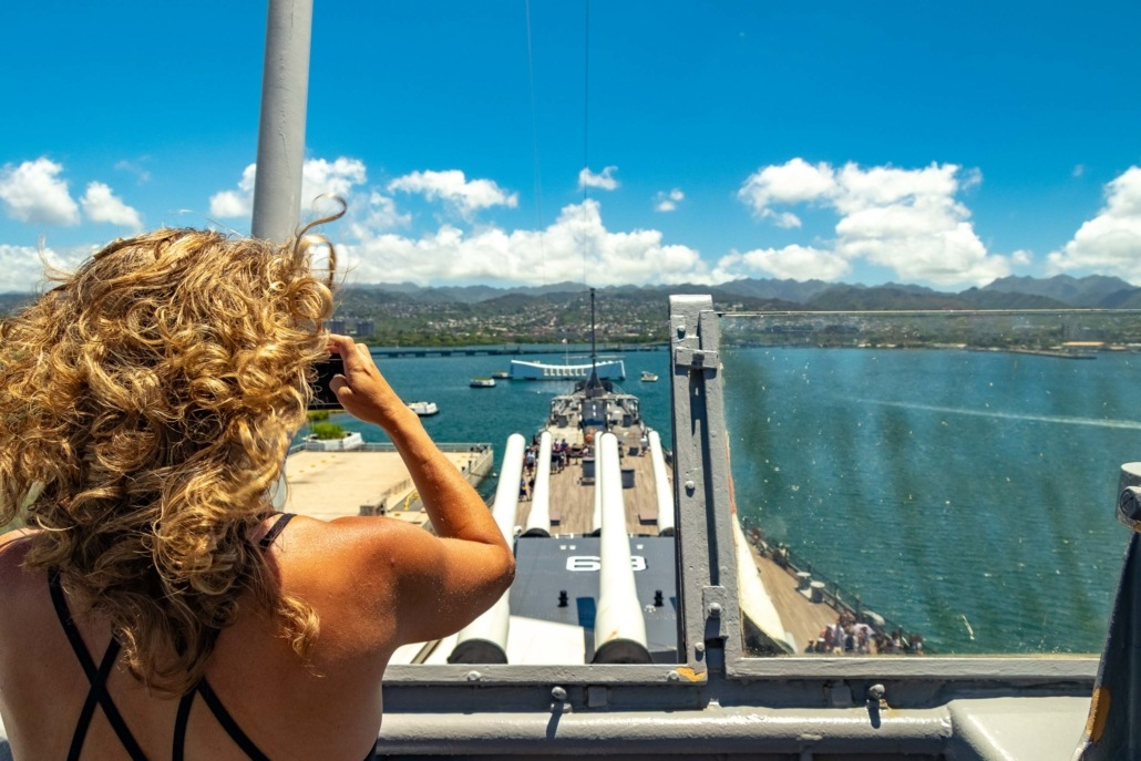 USS Missouri Bridge Visitor and Arizona Memorial Pearl Harbor Oahu