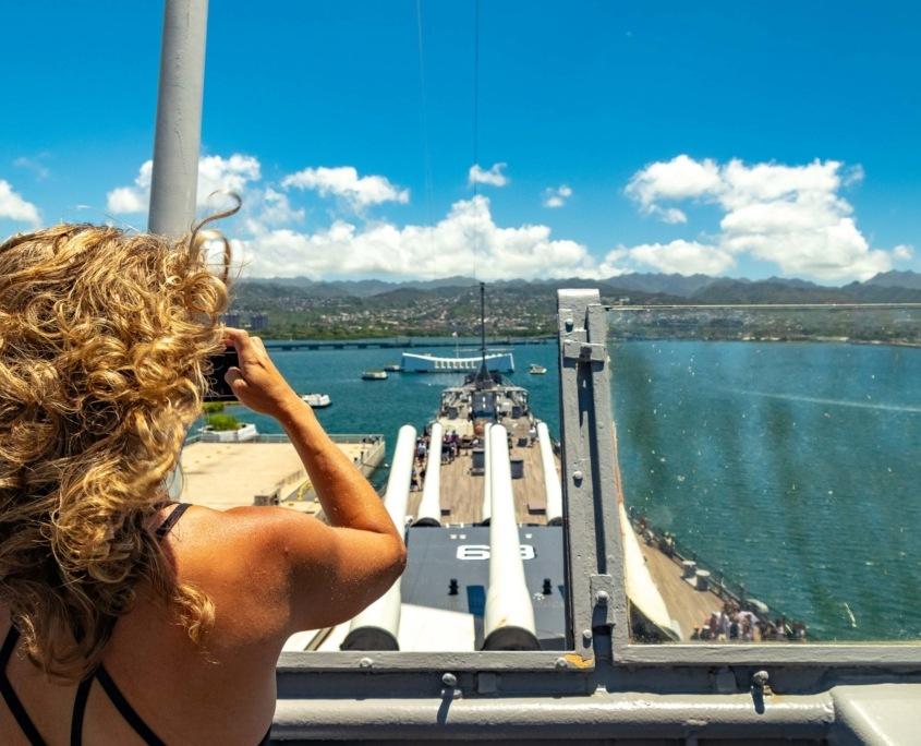 USS Missouri Bridge Visitor and Arizona Memorial Pearl Harbor Oahu