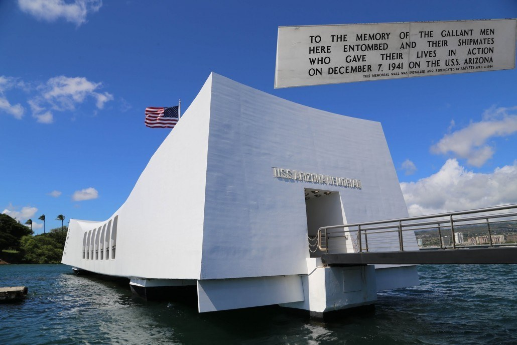 Arizona Memorial Entrance