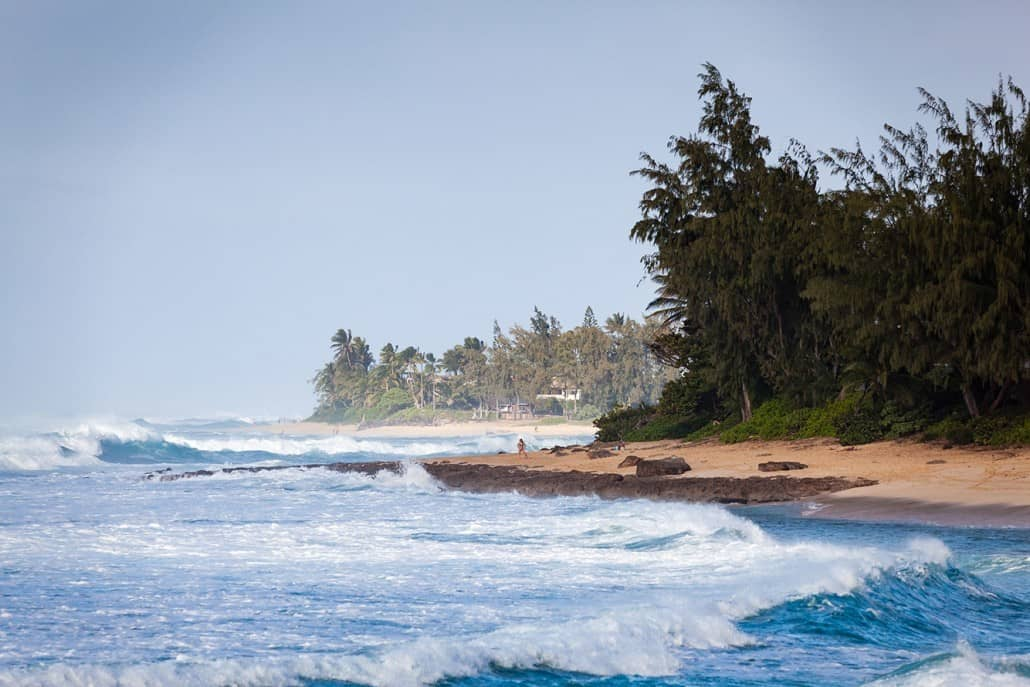 North Shore Beach Walk
