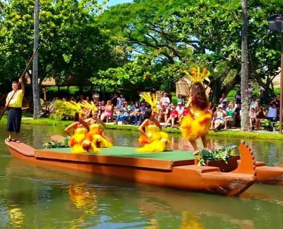 Polynesian Cultural Center Canoe Parade
