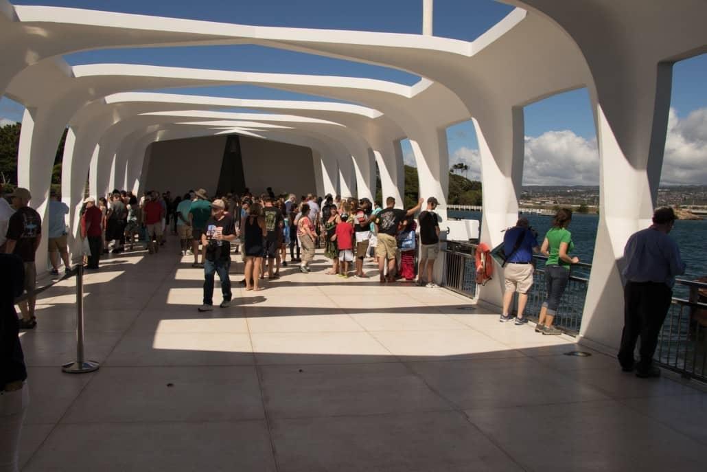 Inside The USS Arizona Memorial
