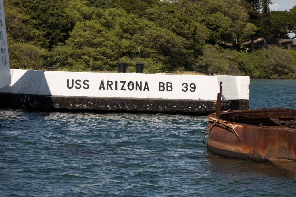 USS Arizona Berth