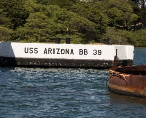 USS Arizona Berth
