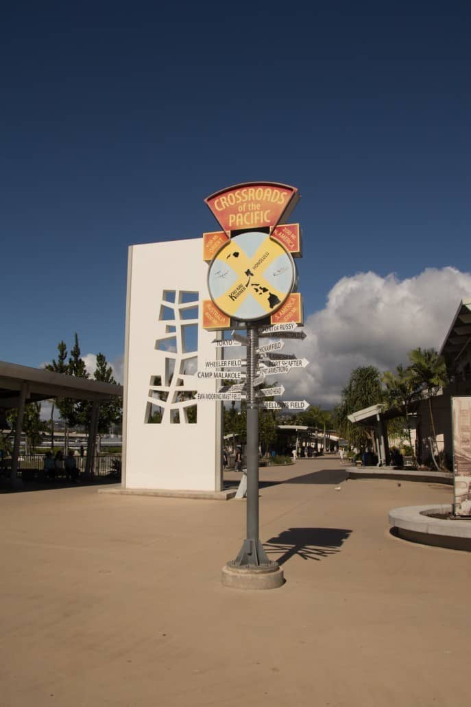 Pearl Harbor Visitor Center Promenade
