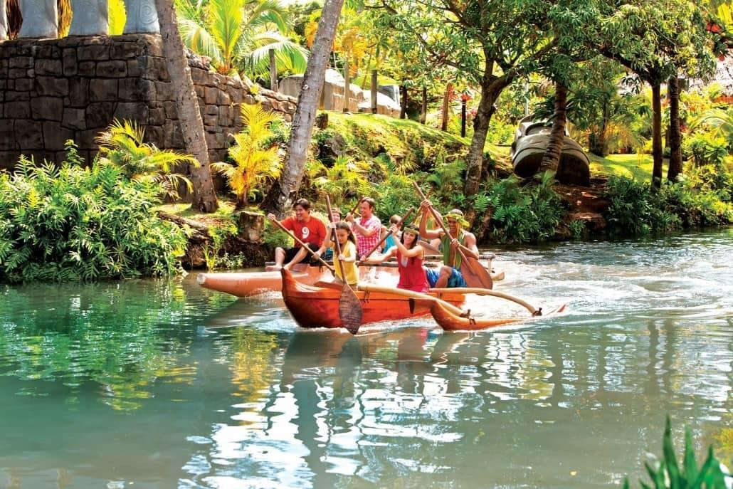 Polynesian Cultural Center Canoe Ride