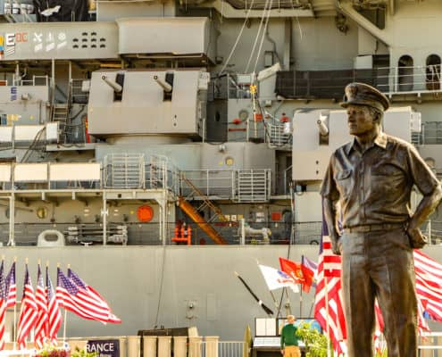 Nimitz Statue