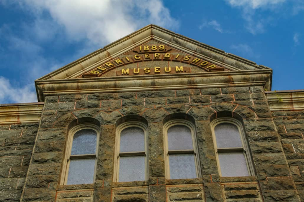 The Bishop Museum Building's Sign