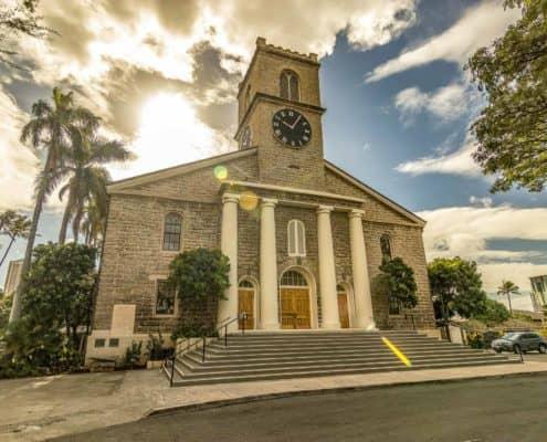 Kawaiahao church front