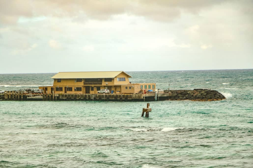 Makai Research Pier Buildings