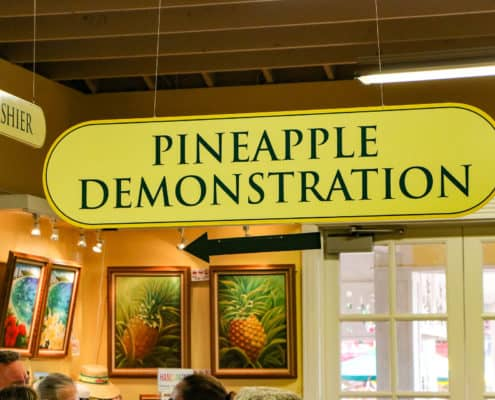 Pineapple Express Train on Dole Plantation