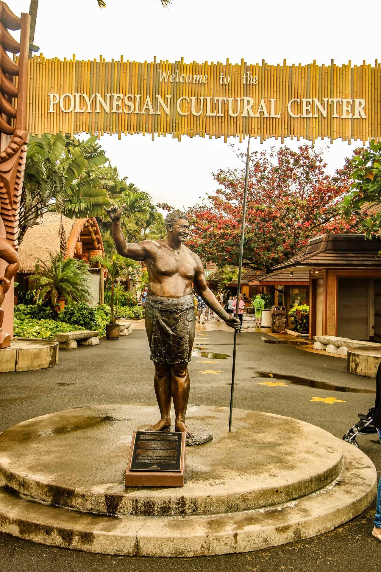 Polynesian Cultural Center In Big Island