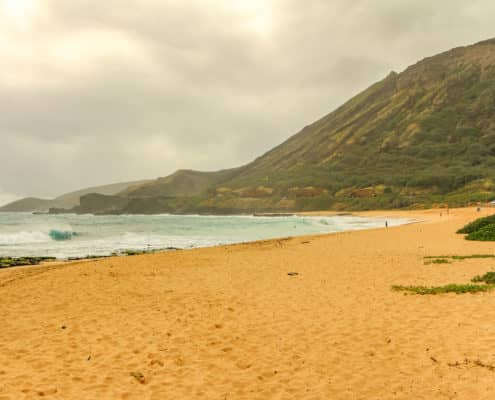 Windward Beach On Oahu