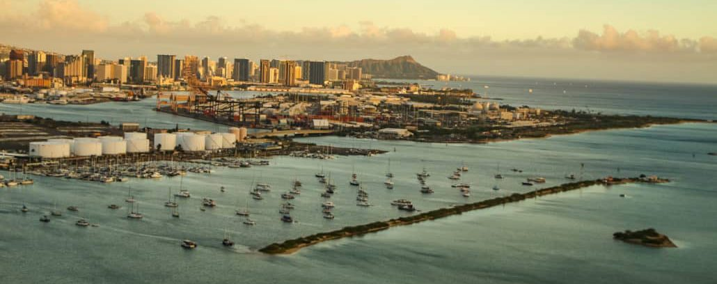 Honolulu harbor oahu