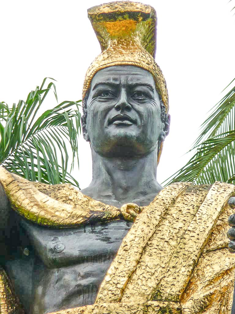 Kamehameha I Statue Headshot Hilo