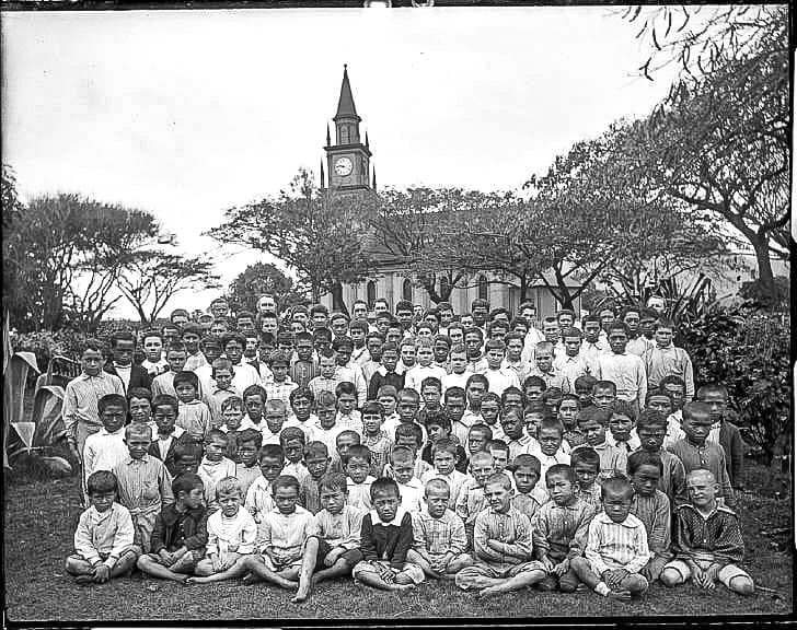 St. Anthony Church WailukuChildrenSchool(), photograph by Brother Bertramlate's