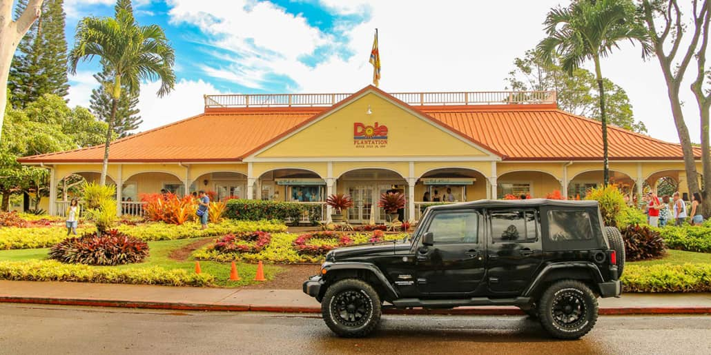 dole plantation jeep new