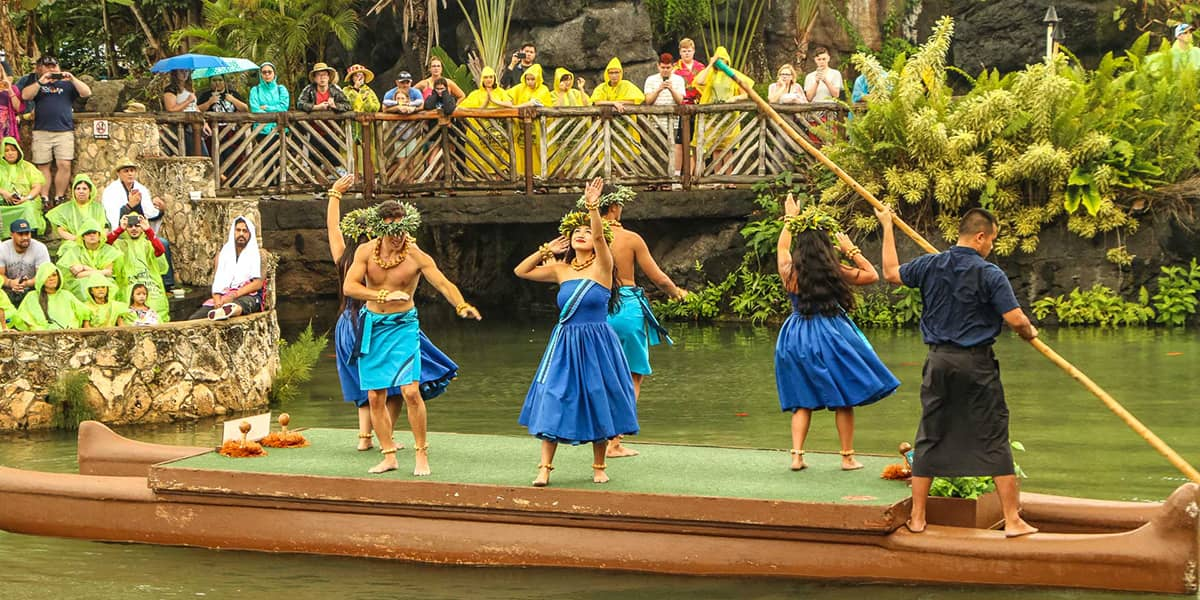 hawaiian canoe dancers cultural center new