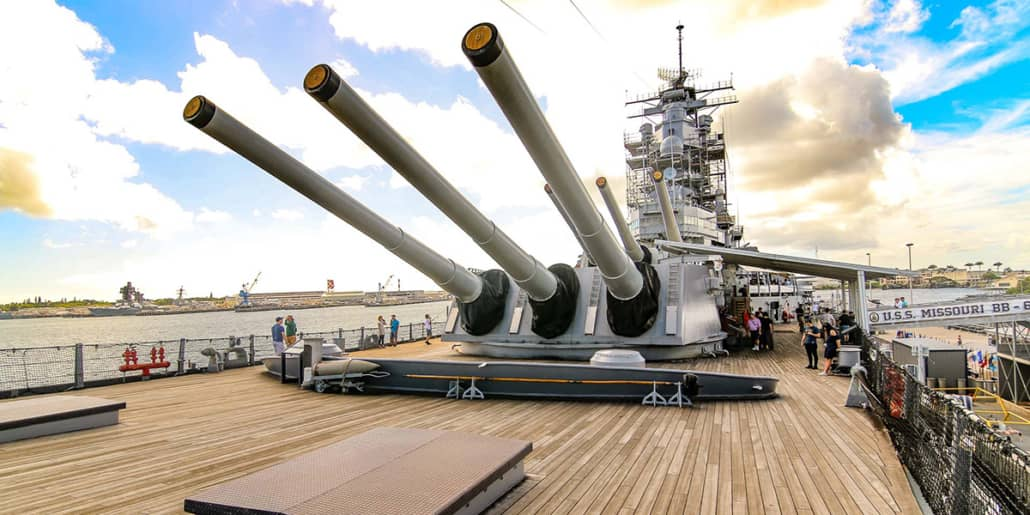 Missouri Deck Guns