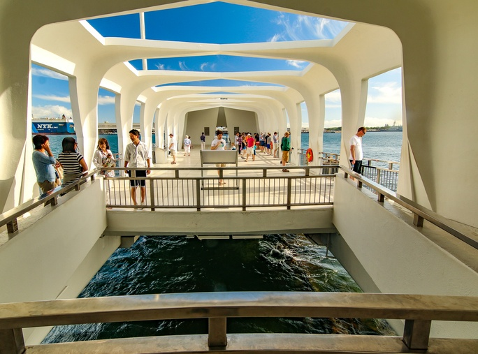Arizona Memorial Deck