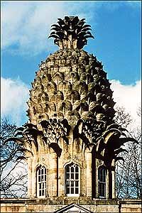 Earl of Dunmore pineapple_garden house 1761 Scottland