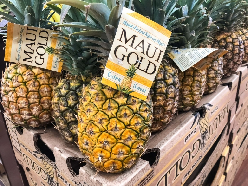 Maui Gold Pineapple Boxes H