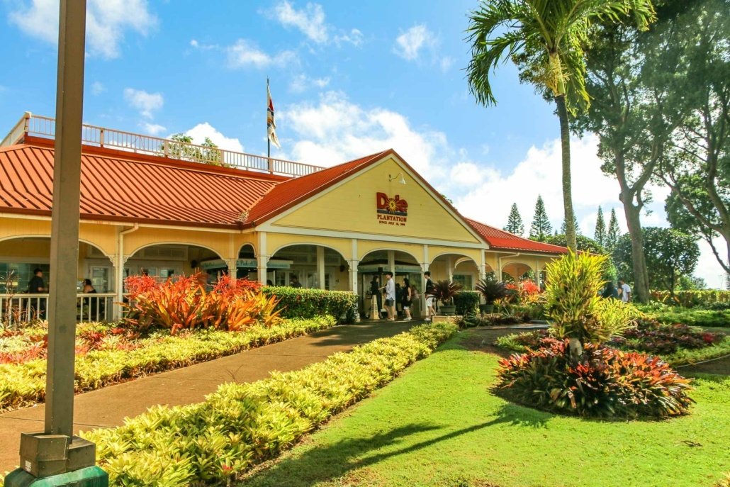 Dole Pineapple Plantation Front Entrance