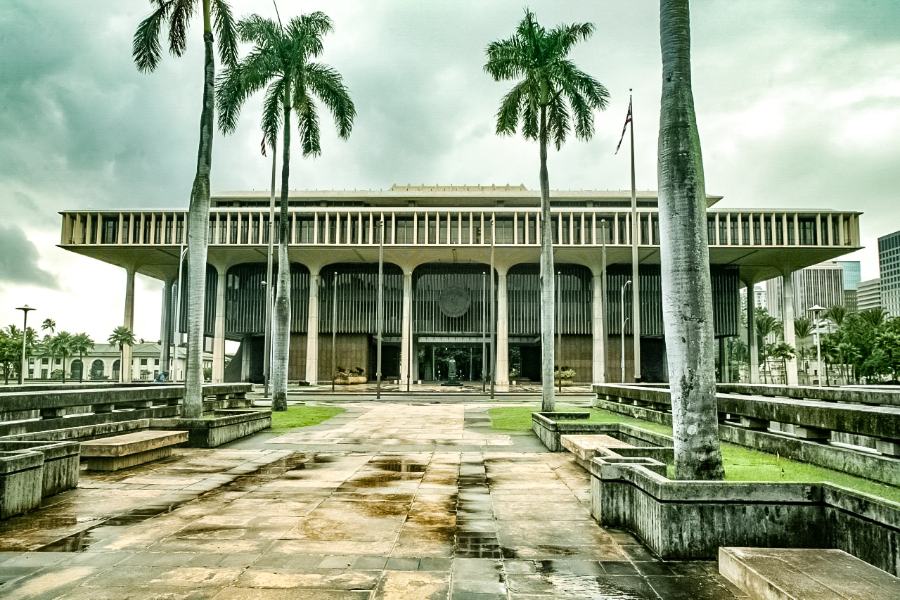 Hawaii_State_Capitol Building Honolulu
