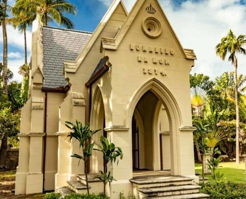 Lunalilo Mausoleum at Kawaiahao Church
