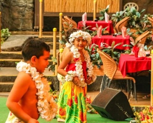 Alii Luau Show Children