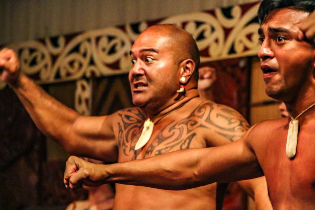 Maori Haka Performers