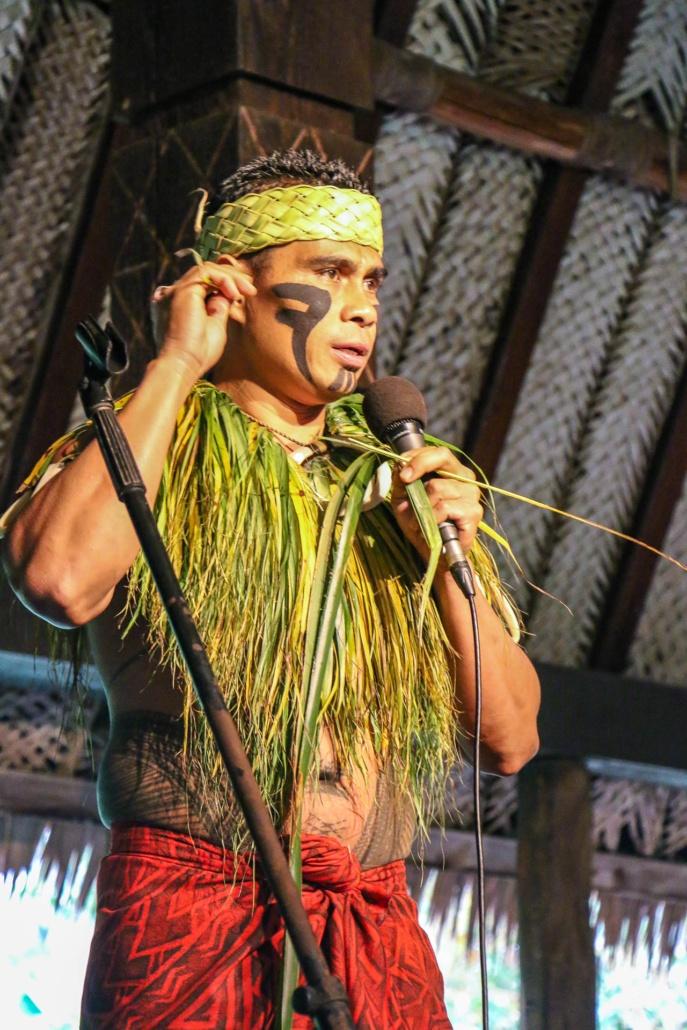 Samoan Performer