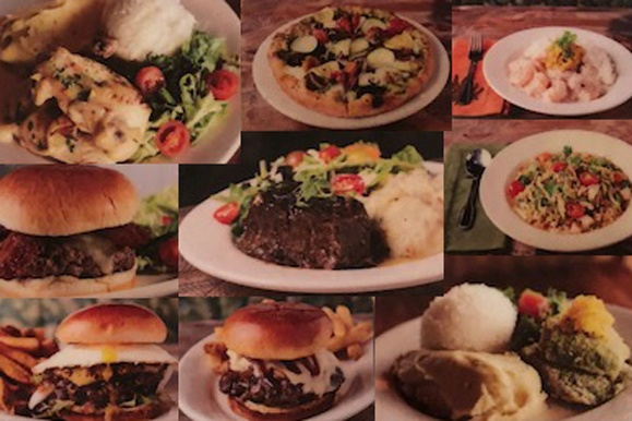 Menu Options At Pounders Restaurant Laie