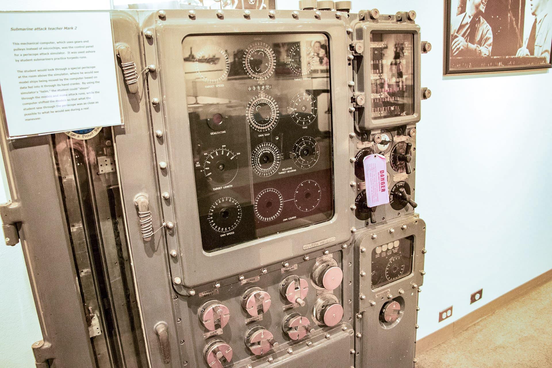 Bowfin Submarine Museum Torpedo Data Computer
