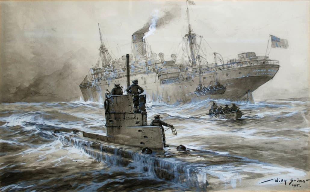 German U-boat WWI