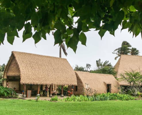 Hawaiian Hale Village at PCC