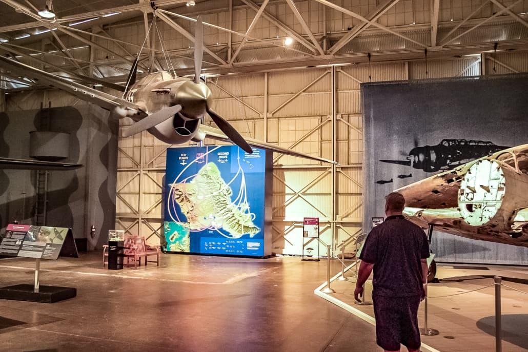 Pacific Aviation Museum Hangar 37 Interior