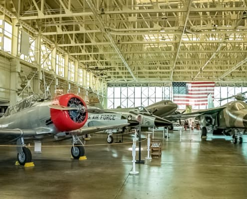Pacific Aviation Museum Hangar Exhibits