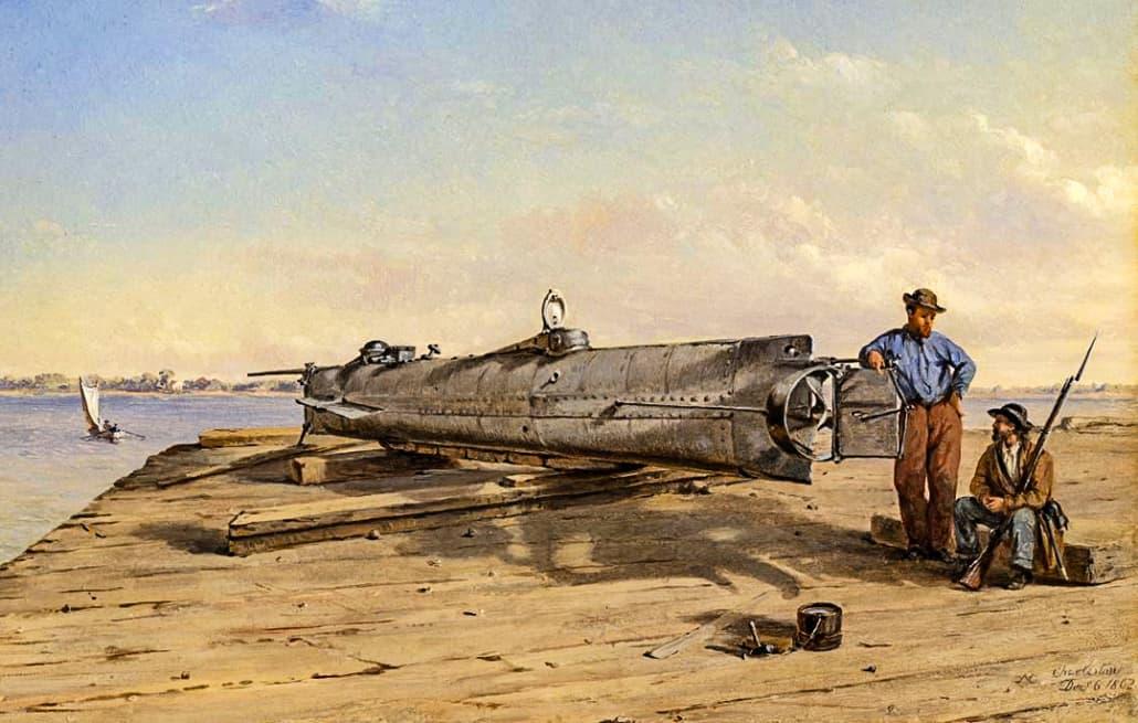 Submarine Torpedo Boat H.L. Hunley,