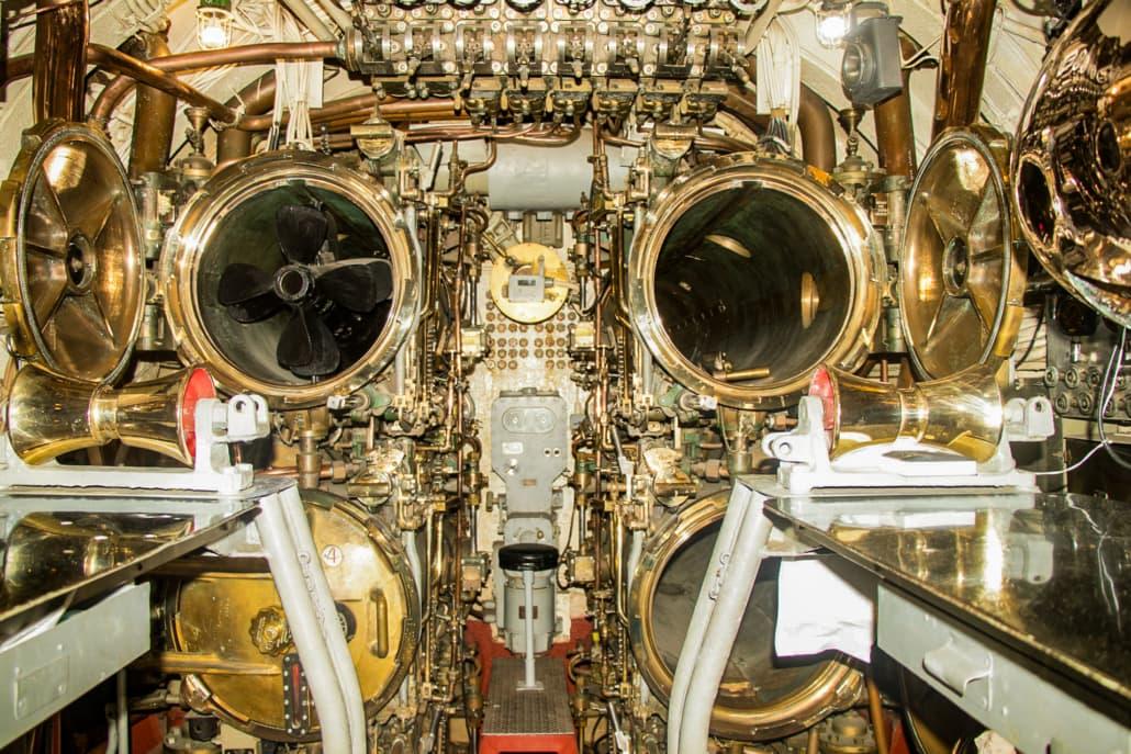 USS Bowfin Submarine Interior Torpedo Tubes
