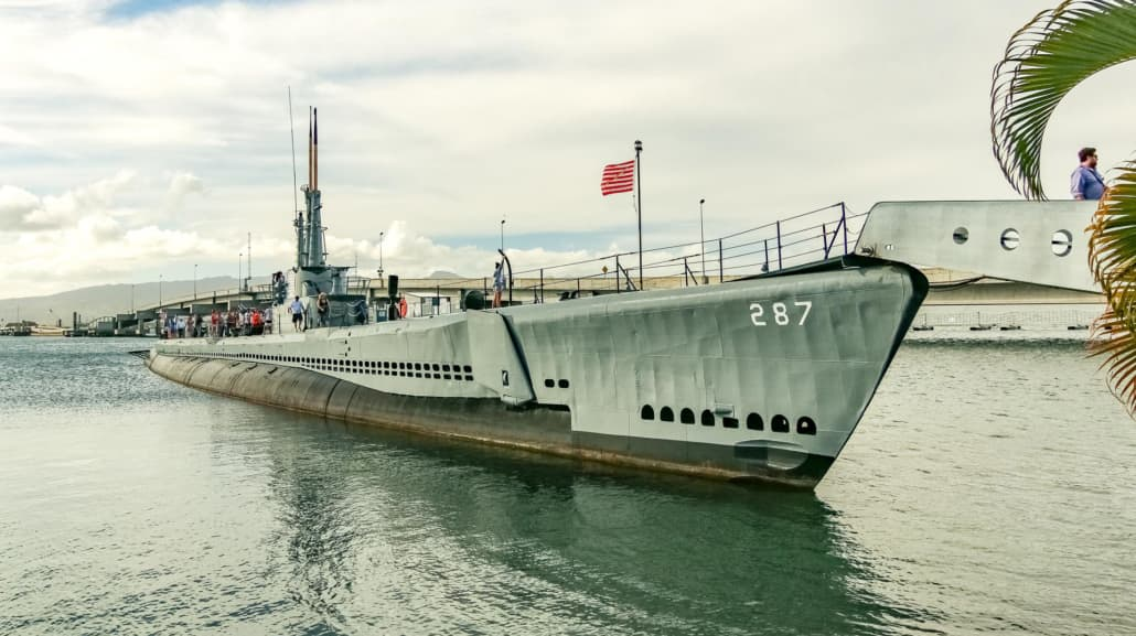 USS Bowfin Submarine At Pearl Harbor
