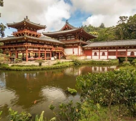 Hawaii Oahu Tour Valley Of The Temples Byodo in