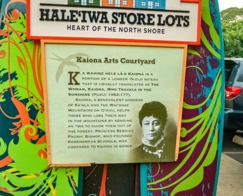 Haleiwa Store Lots Sign North Shore History