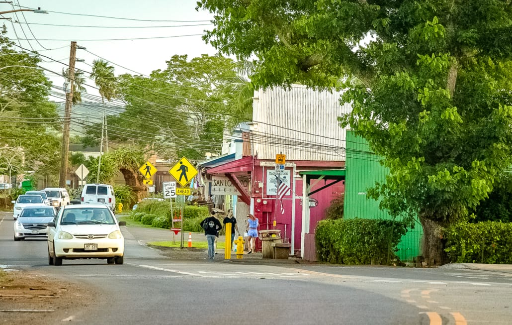 Haleiwa Town Street
