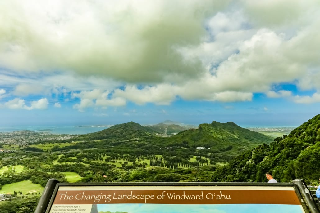 Nuuanu Valley Lookout View
