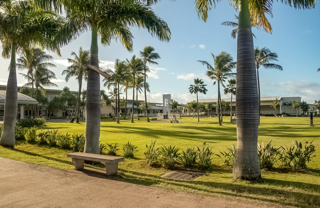 Pearl Harbor Visitor Center Grounds